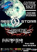 Gothic Night Poznań, Gothic Night Poznań 2018, Red Storm, Arshenic, Electro Fear, KEstrella, gothic rock, gothic metal, dark electro