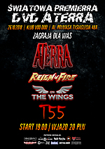 Aterra, AV, heavy metal, power metal, thrash metal, metal, Reign Of Fire, On The Wings, hard rock, rock'n'roll, T-55, punk rock
