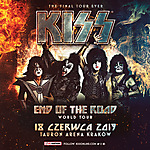 Kiss, End Of The Road World Tour w Polsce, hard rock, heavy metal, glam metal