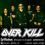 OverKill, Destruction, Flotsam & Jetsam, Meshiaak, Knock Out Productions, A2, B90.