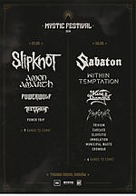 Sklipknot, Kind Diamond, Emperor, Amon Amarth, Testament, Powerwolf, Trivium, Carcass, Municipal Waste, Sabaton, Within Temptation, Eluveitie, Immolation, Crowbar, Power Trip, Knock Out Productions, Mystic Festiwal, Tauron Arena.