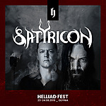 Satyricon, Helliad Fest 2019, Decapitated, Obscure Sphinx, death metal, black metal, doom metal
