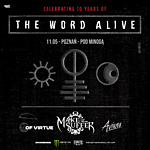 The Word Alive, Make Them Suffer, Of Virtue, Aviana, metal, hard rock, metalcore