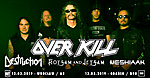 Overkill, Flotsam And Jetsam, Destruction, Chronosphere, Knock Out Productions.