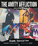 The Amity Affliction, Europe Summer 2019, metalcore, hardcore, metal, Crystal Lake, Cane Hill