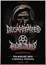 Decapitated, Thy Art Is Murder, death metal, deathcore, Letters From The Colony
