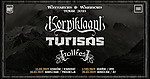 Korpiklaani, Turisas, Trollfest, A2, Knock Out Productions.