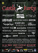 Castle Party Festival, Castle Party Festival 2019, Castle Party Festival 2019 program, gothic, industrial, electro, ebm, Merciful Nuns, Deathstars, UK Decay, Lord Of The Lost, Atari Teenage Riot, Myrkur