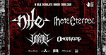 Nile, Hate Eternal, Vitriol, Omophagia, metal, death metal