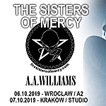 The Sisters Of Mercy, A.A. Williams, Andrew Eldritch