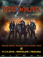 Beast In Black, Myrath, Pralnia, Knock Out Productions.
