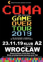 Coma, Galicja Productions, Game Over Tour