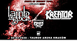 Kreator, Lamb Of God, Power Trip, Knock Out Productions.