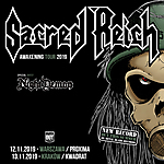 Sacred Reich, Night Demon, thrash metal, heavy metal