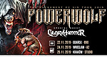 Powerwolf, Gloryhammer, A2, Knock Out Productions.