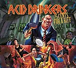 Acid Drinkers, 25 Cents For A Riff, metal, La Part Du Diable, rock, Dirty Money. Dirty Tricks, Jankiel, Strip Tease