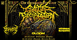 Cattle Decapitation, Disetomb, Internal Bleeding, Gloom, Drizzly Grizzly, Knock Out Productions