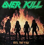 Feel The Fire, Overkill, Megaforce Records, Mercyful Fate, Anthrax, Metallica, thrash metal, Blitz, The Dead Boys, punk rock